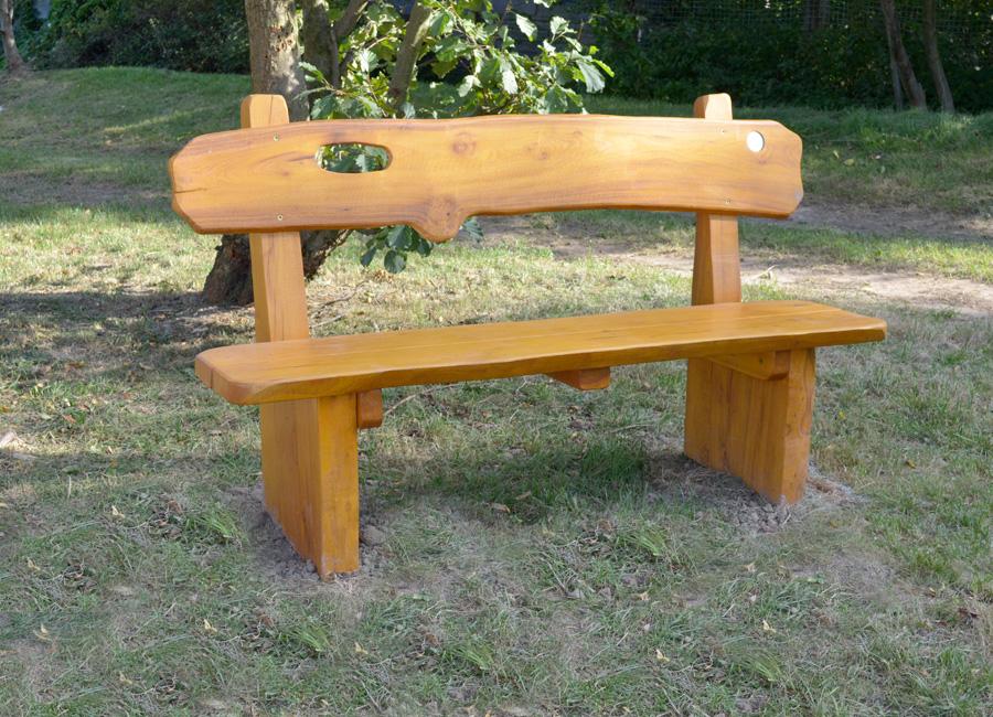 arredo panche  tavoli panca rustica  schienale