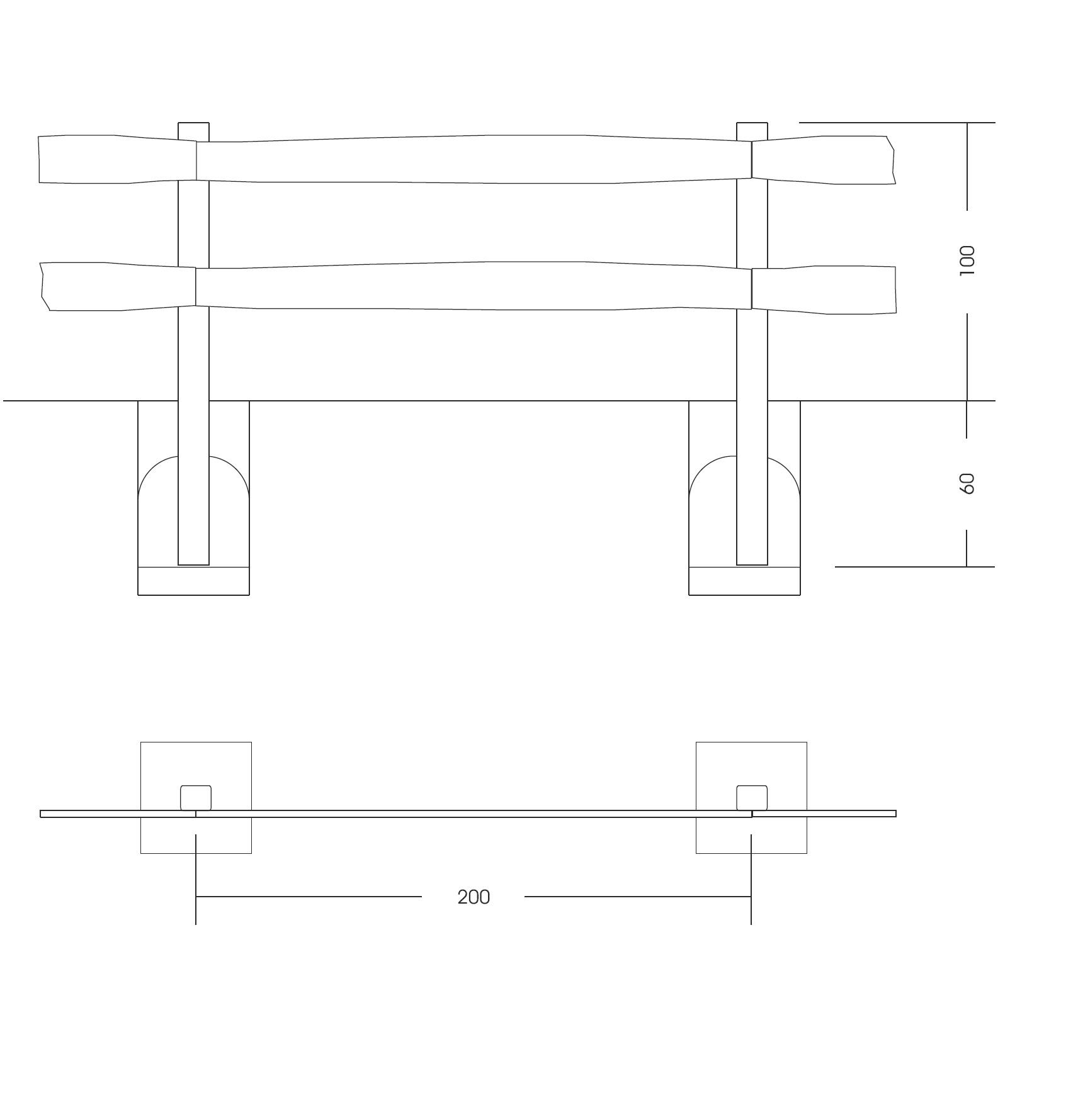 28 recinzioni e staccionate staccionata baita for Staccionata dwg